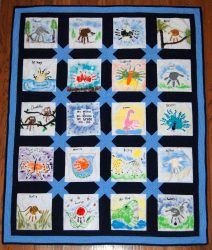 Example of Friendship Quilt