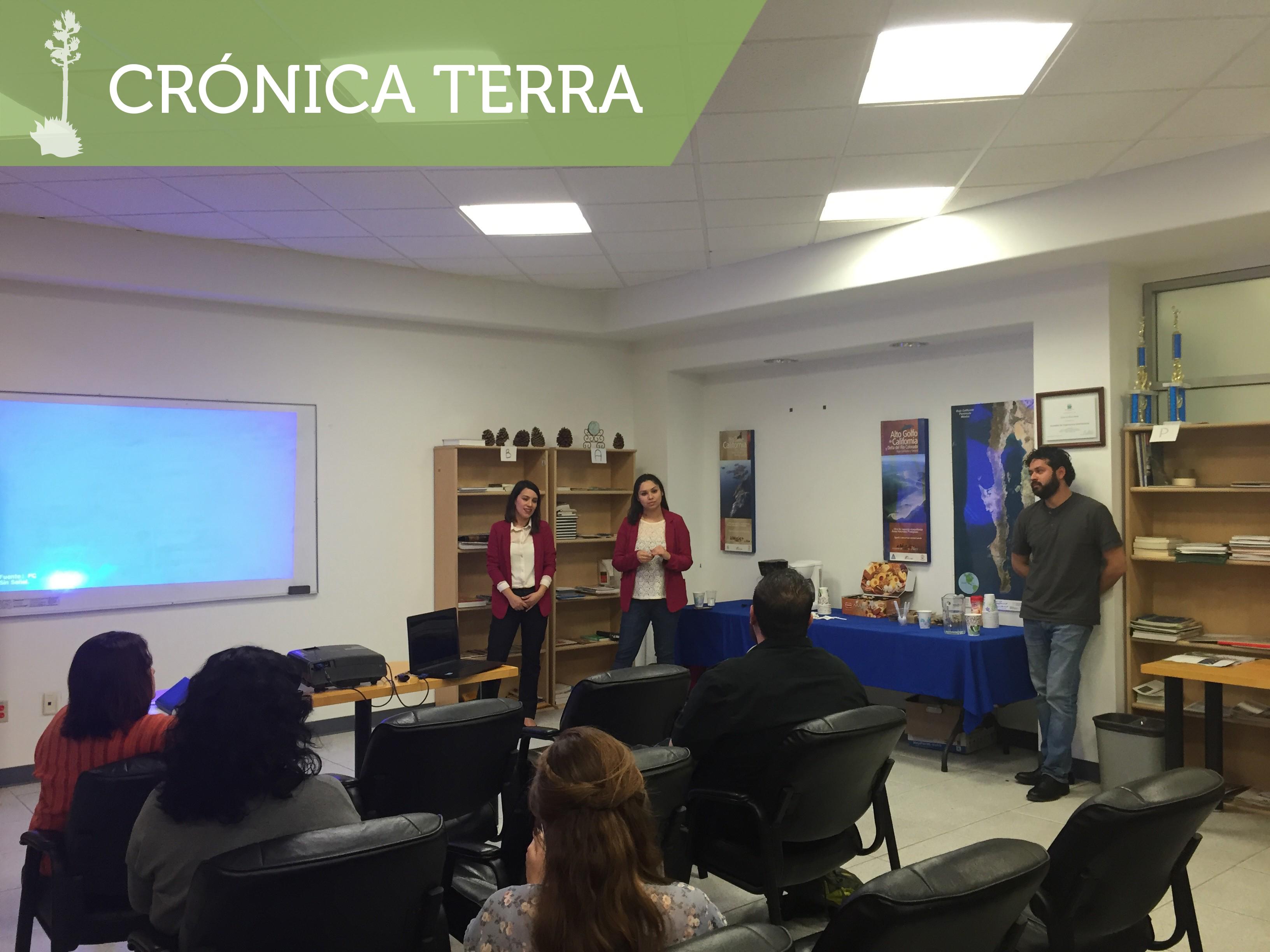 Proyecto de educación ambiental en Sierra de San Pedro Mártir 2016