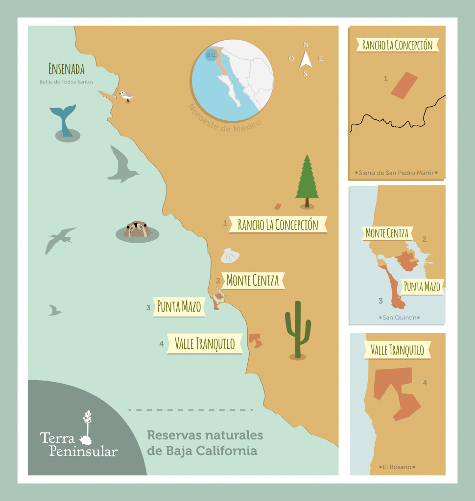 Reservas naturales Terra Peninsular BC