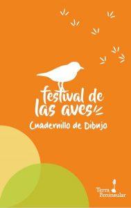 Cuadernillo de dibujo del segundo Festival de las Aves de Terra Peninsular en San Quintín 2016.
