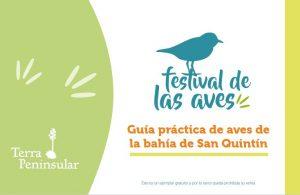 Guía de Aves del segundo Festival de las Aves de Terra Peninsular en San Quintín 2016.
