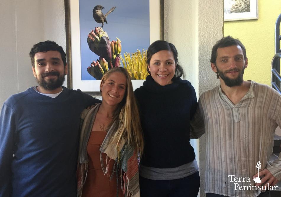 Visita de Tatiana Galliac y Joel Jansa de la iniciativa Permact.