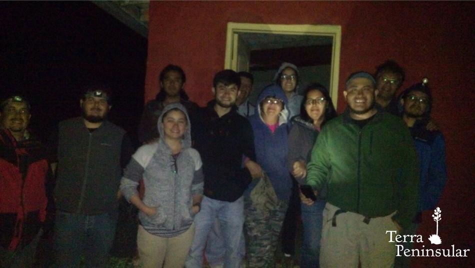 Científicos de CIBNOR en la Reserva Natural Punta Mazo, en San Quintín.