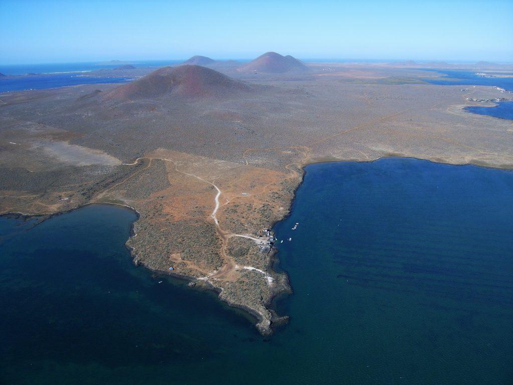 El volcán Ceniza se encuentra dentro de la Reserva Natural Monte Ceniza