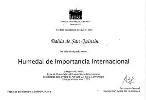 Bahía de San Quintín: Humedal de Importancia Internacional