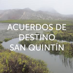 13 zonas costeras de la ZOFEMAT como acuerdos de destino en San Quintín