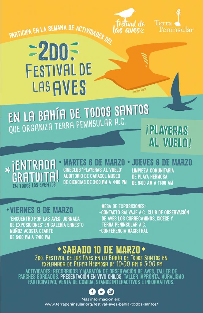 2do. Festival de las Aves Ensenada 2018