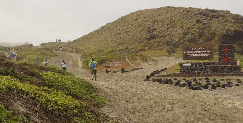 Realizan carrera en la Reserva Natural Punta Mazo
