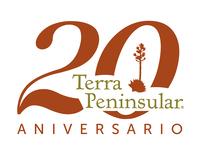 Logo 20 aniversario de Terra Peninsular